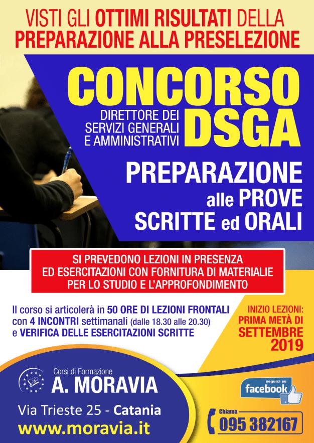 concorso dsga 2019