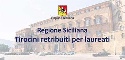 Bando Tirocini presso la regione Siciliana