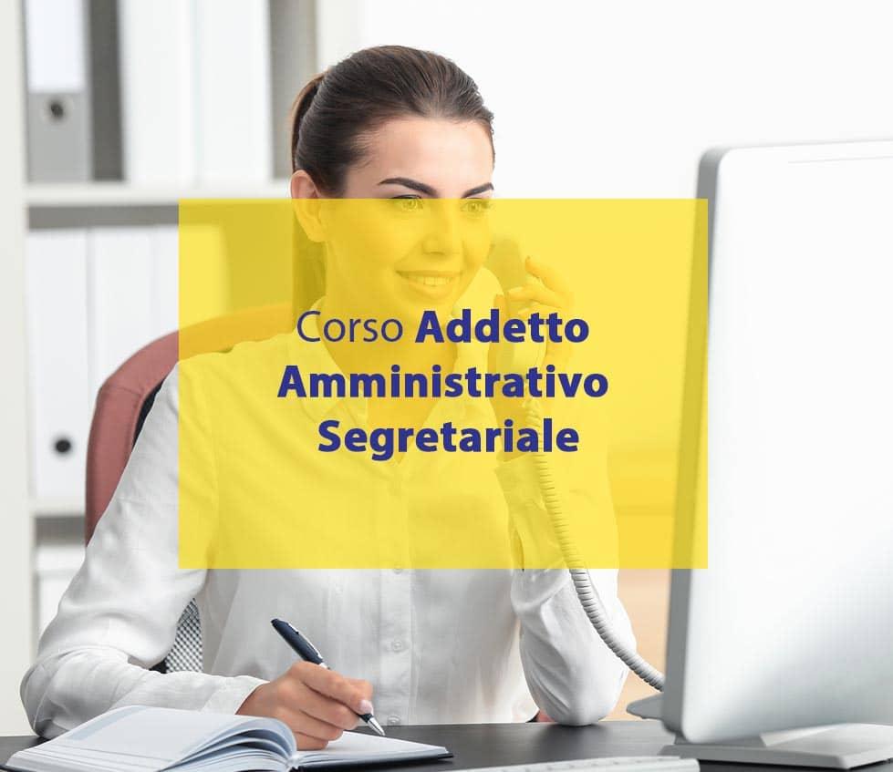 addetto amministrativo segretariale