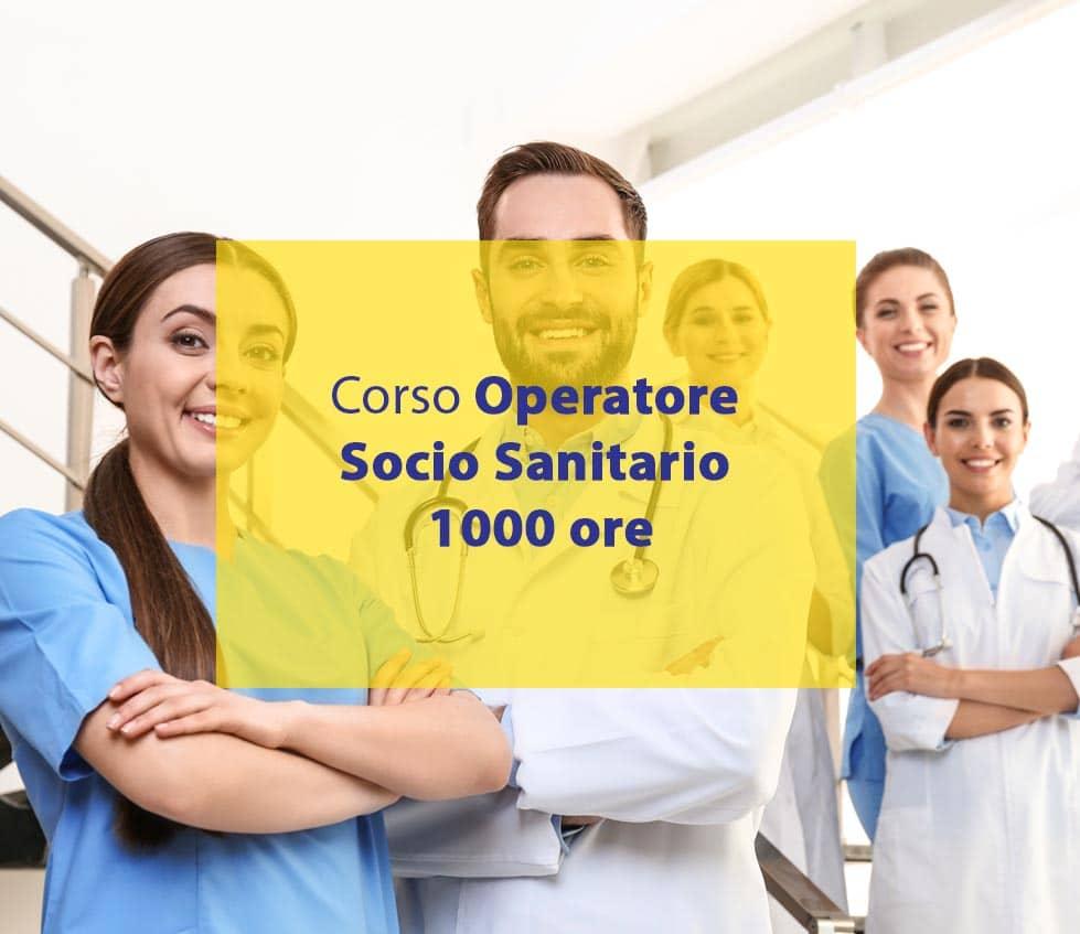 operatore socio sanitario 1000 ore